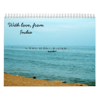 With Love from India Calendar