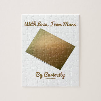 With Love, From Mars By Curiosity (Mars Landscape) Jigsaw Puzzle