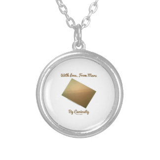With Love, From Mars By Curiosity (Mars Landscape) Personalized Necklace