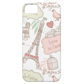With Love From Paris iPhone SE/5/5s Case