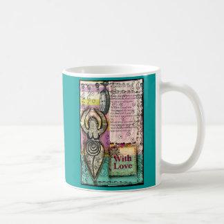 With Love Goddess Coffee Mug