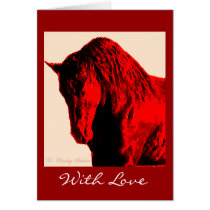 With Love Horse Cards