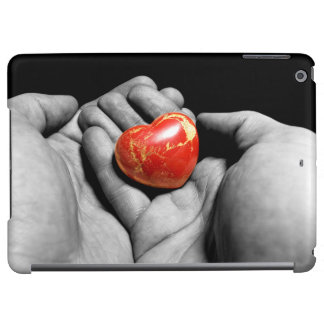 With love iPad air covers