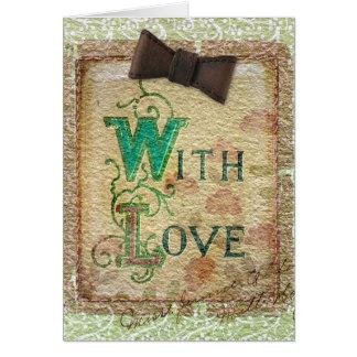 With Love, Miss Jennie Elder Card