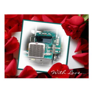 With Love...Stacks Truck Post Card