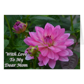 With Love To My Dear Mom Card