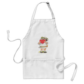 With My Love Adult Apron