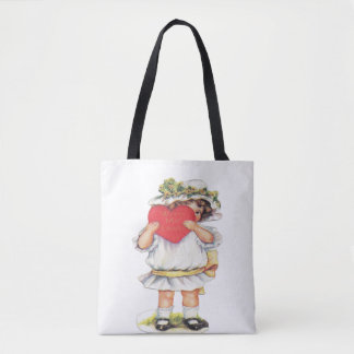With My Love Tote Bag