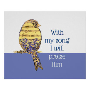 Song Of Praise Gifts on Zazzle