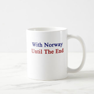 With Norway Until The End Coffee Mug