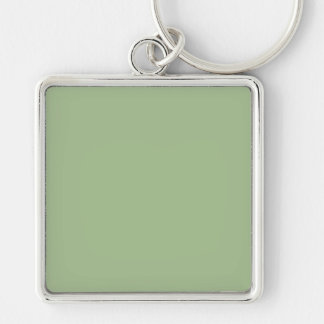With Nothing On It Except Color - Avocado Green Keychain