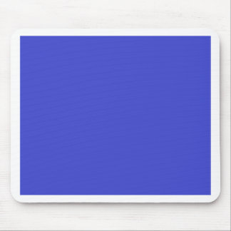 With Nothing On It Except Color - Blue Purple Mouse Pad