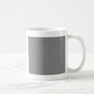 With Nothing On It Except Color - Dark Gray Coffee Mug