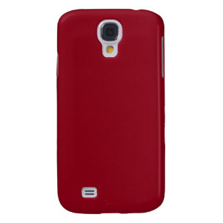 With Nothing On It Except Color - Deep Red Samsung S4 Case