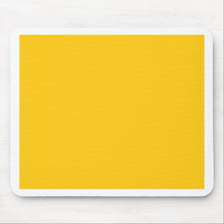 With Nothing On It Except Color - Golden Yellow Mouse Pad