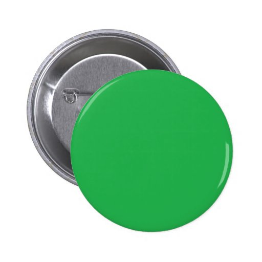With Nothing On It Except Color - Green 2 Inch Round Button