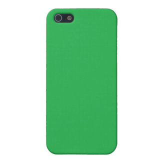 With Nothing On It Except Color - Green iPhone SE/5/5s Case