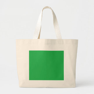 With Nothing On It Except Color - Green Jumbo Tote Bag