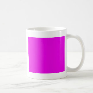 With Nothing On It Except Color - Magenta Coffee Mug