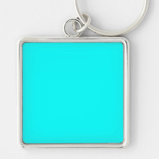 With Nothing On It Except Color - Turquoise Keychain