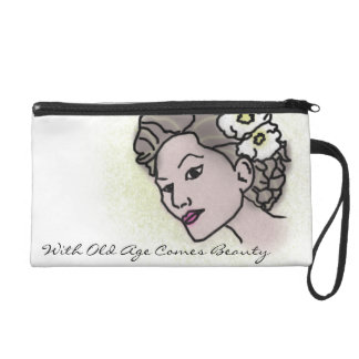 With Old age comes beauty Matte lady bag