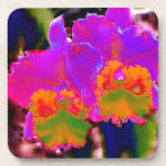 With other eyes watched flowers 1 beverage coasters