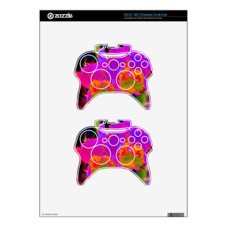 With other eyes watched flowers 1 xbox 360 controller decal