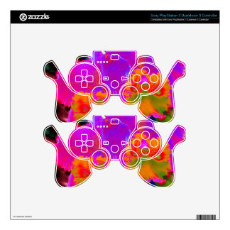 With other eyes watched flowers 1 skin for PS3 controller