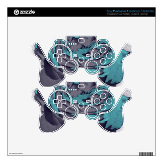 With other eyes watched flowers 3 decal for PS3 controller