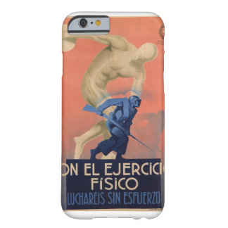 With physical exercise will_Propaganda Poster Barely There iPhone 6 Case