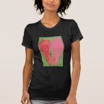 With pop colorful graphic T shirt