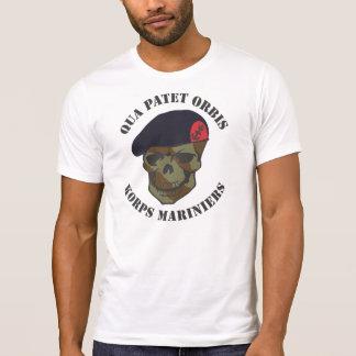 With regard to Patet Orbis, corps Mariniers T-Shirt