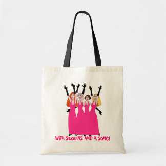 With Sequins and  Song! Tote Bag