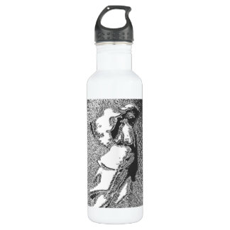 with Silver Angel Stainless Steel Water Bottle