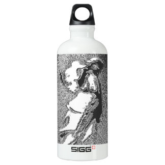 with Silver Angel Water Bottle