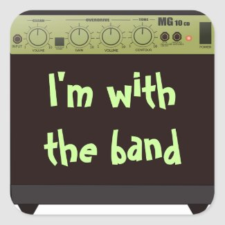 With the Band Stickers