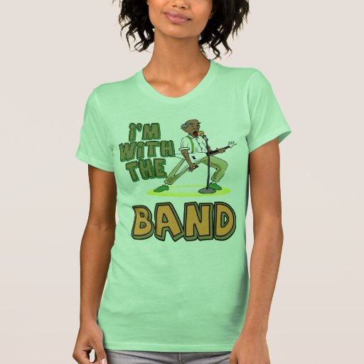With The Band Tshirts