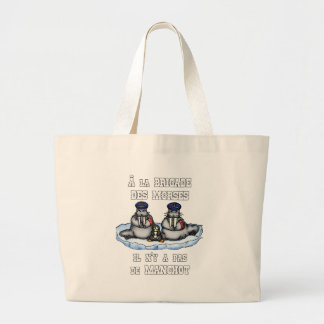 With the BRIGADE OF the MORSES there is no PENGUIN Large Tote Bag