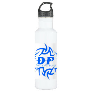with The Dark Protectors Logo Water Bottle