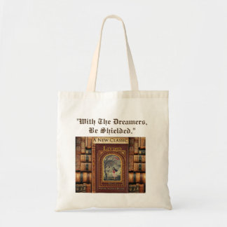 """""""With The Dreamers, Be Shielded."""" LIVIAN Prayer Tote Bag"""