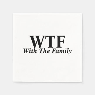 With The Family Napkins Disposable Napkins