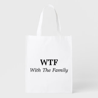 With The Family Reusable Bag