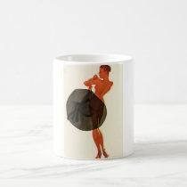 With the Wrong Sid Pin Up Art Coffee Mug