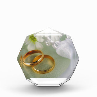 With This Ring I Take... Acrylic Award