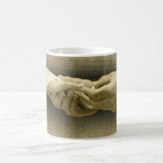 With this Ring, Romantic Vintage Wedding Love Classic White Coffee Mug