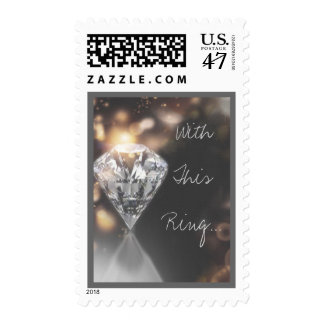 With This Ring Wedding Postage