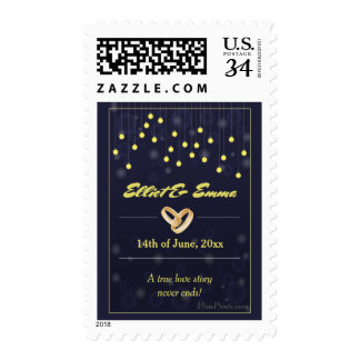 With This Ring Wedding Postage Stamp