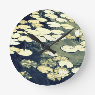 With Thoughts of Monet Wall Clock