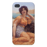 With Violets Wreathed iPhone 4 Case