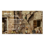With war ships, Algiers, Algeria classic Photochro Business Card Template
